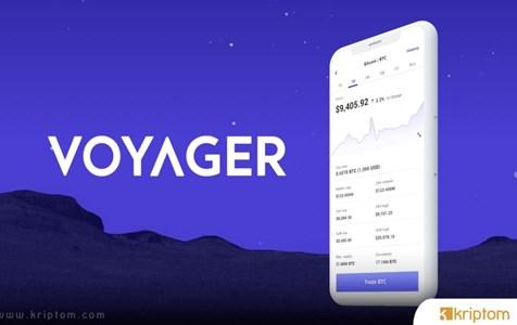 Kripto Brokerı Voyager 2.1 Milyon Dolarlık Özel Ödemeyi Duyurdu
