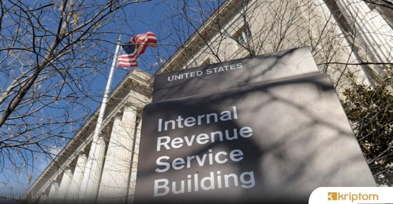 Kripto Paraları İçin Vergi Ödeyenlere IRS Geri Ödeme Yaptı