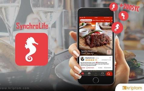 Kripto Tabanlı Restoran İnceleme Platformu Synchrolife'dan Dev Hamle