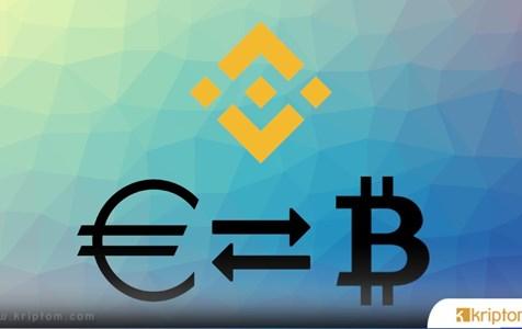 Lider Bitcoin Borsası Binance Euro Desteğini Açıkladı