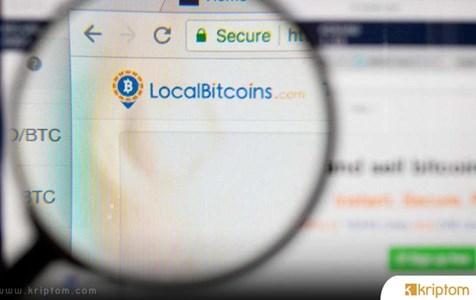 LocalBitcoins, KYC Düzenlemelerini Kabul Ettikten Sonra Darknet İle İlgili İşlemlerde % 70'lik Bir Düşüş Bildirdi