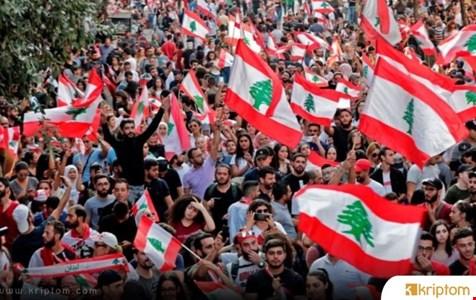 Lübnanlı Protestocular Ulusal Fiat Para Biriminin Ölümünü İşaretlemek İçin Bir Hareket Oluşturdu