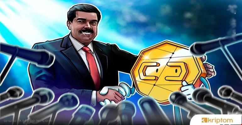 Maduro, Venezuela'nın Petro Kripto Para Birimi İçin Petrol ve Altın Satacağını Duyurdu