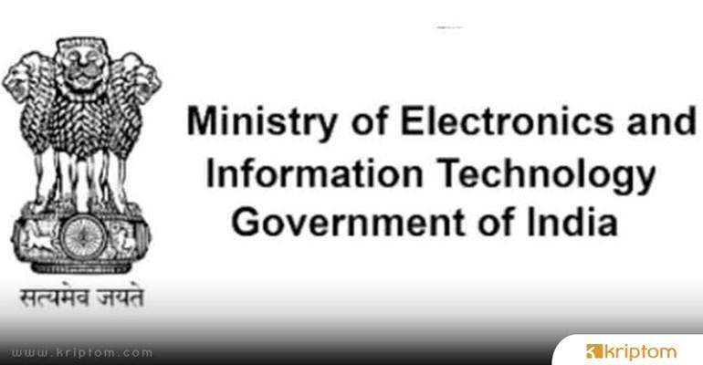 MeitY: Ulusal Düzeyde Blockchain Teknolojisi Üzerine Çalışma