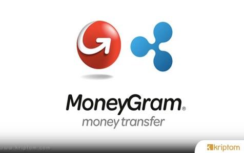MoneyGram, Ripple'ın XRP'si Üzerinden 100 Milyon $'lık İşlem Yaptı
