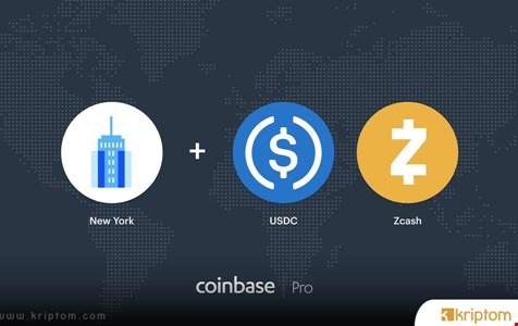 New York Sakinleri Artık Coinbase'de USDC ve Zcash Ticareti Yapabilir