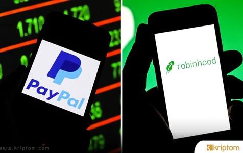 PayPal'ın Bu Alanda Robinhood'u Geçtiği İfade Ediliyor! Bitcoin mi?