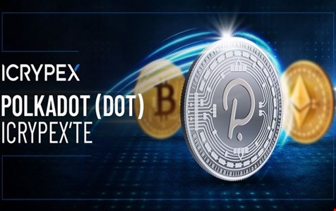 Polkadot (DOT), ICRYPEX'te Listelenmeye Başladı