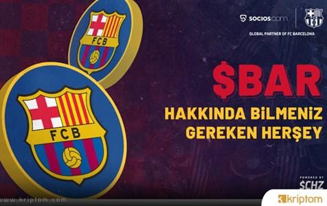 Resmi FC Barcelona Taraftar Tokenı olan BAR'ın Socios.com Uygulamasında Piyasaya Sürülmesine Sadece 6 Gün Kaldı.