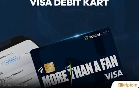 Socios.com'dan Visa İle İşbirliği