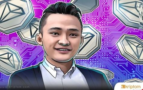 Tron CEO'su Justin Sun, OKEx'te