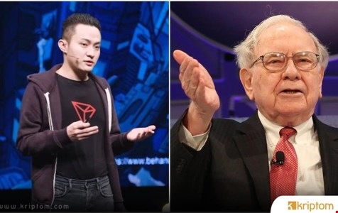 Tron CEO'su Justin Sun Warren Buffett'in BTC ve TRX'inin Hala Sahibi Olduğunda Israr Ediyor