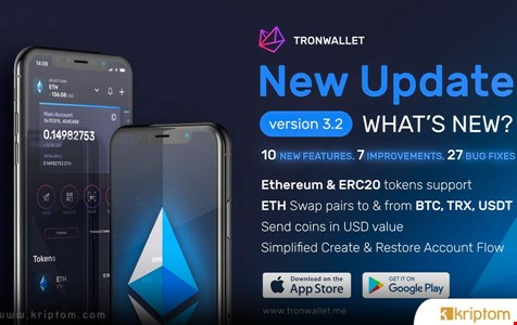 TronWallet 3.2 Sürümünü Sunuyor