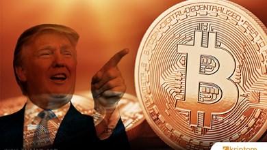 Trump'ın gözü Bitcoin'in üzerinde!