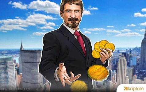 Ünlü Bitcoin Boğası John McAfee, 2020 ABD Seçimleri Yaklaştığı İçin Kripto Promosyonunu Durdurdu