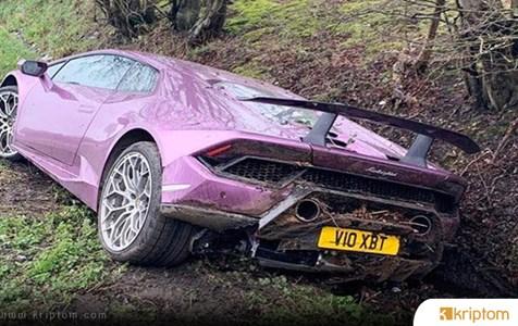 Ünlü Bitcoin Yatırımcısı 500 Bin Dolarlık Lamborghini'si İle Kaza Yaptı