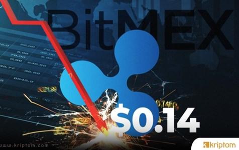 XRP Fiyatı BitMEX Borsasında Aniden 0.14 Dolara Düştü